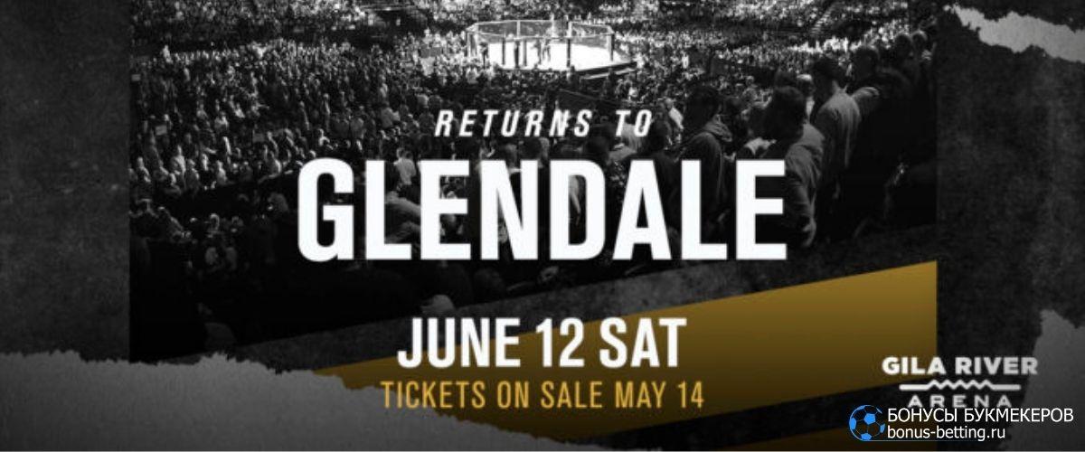 UFC 263: дата и время