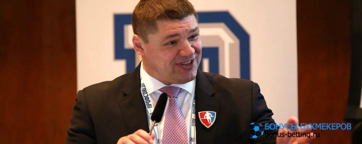 Андрей Коваленко оценил идею ужесточенного лимита в КХЛ