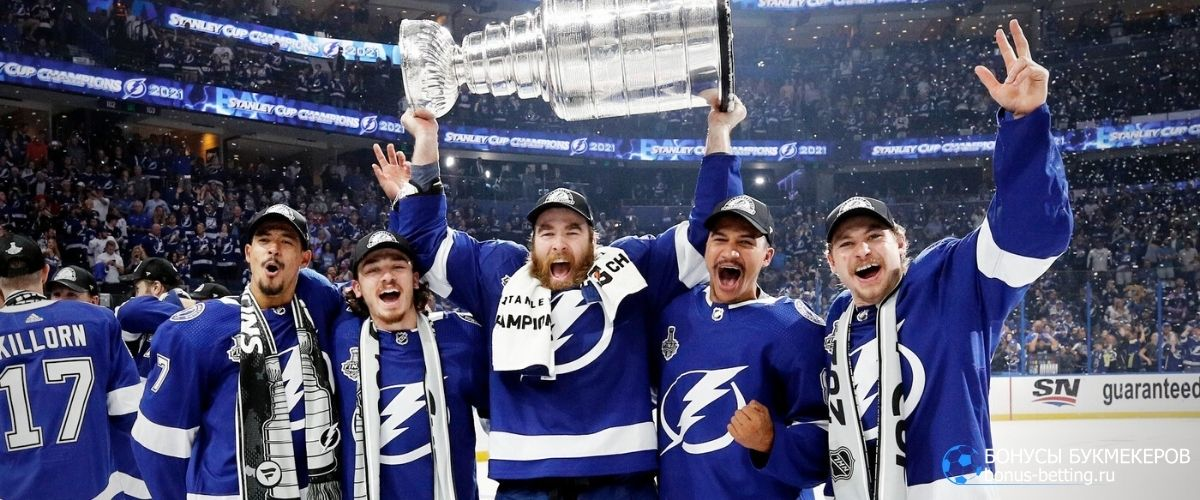 Ставки на НХЛ 2021-2022: Тампа-Бэй Лайтнингс